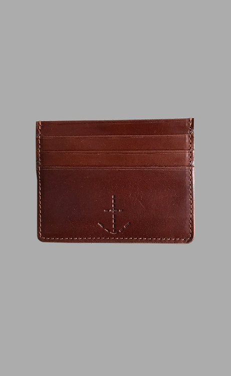 Johnny the card holder Brown
