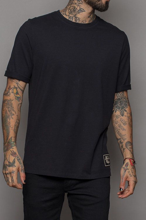 Black label tee Black
