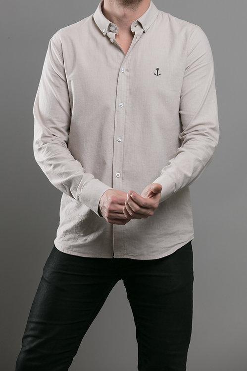 Herrman Oxford Shirt Sand