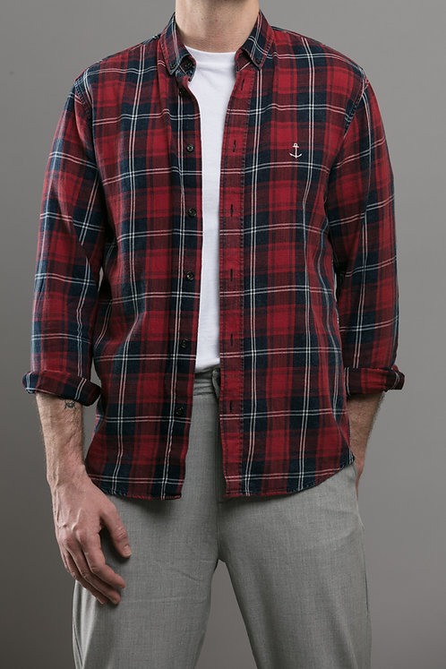 Harry Red Check