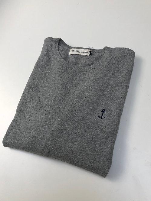 David knit Grey
