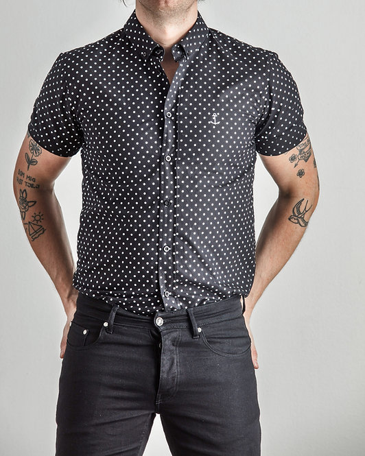 Herrman Short Sleeve Shirt Spotted