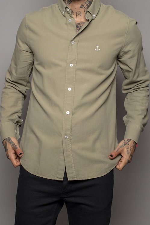 Herrman oxford shirt green
