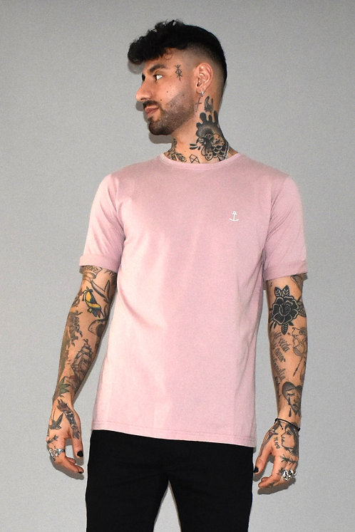 Embo Tee Old Pink
