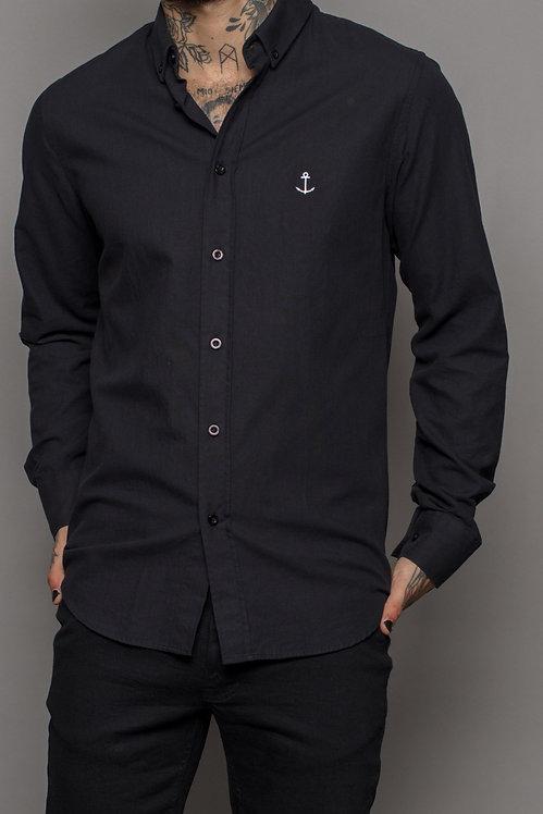 Herrman Oxford Shirt Black