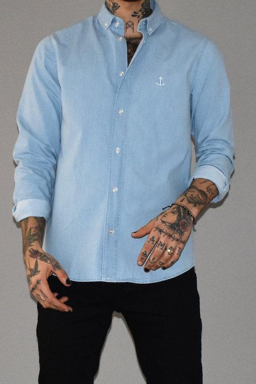 Denim shirt light blue