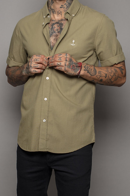 Herrman short sleeved shirt green