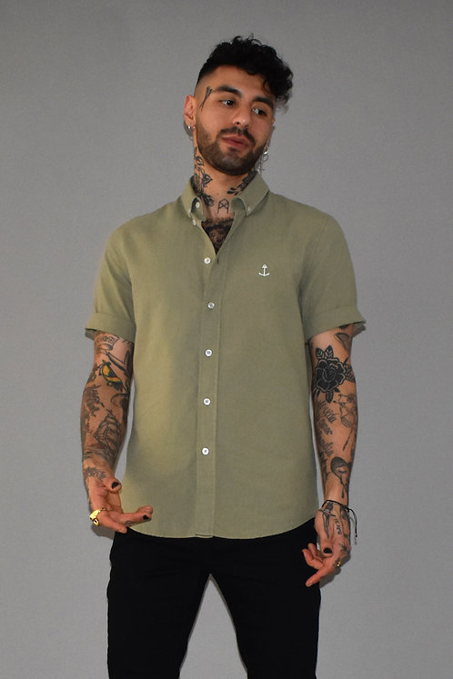 Herrman short sleeved shirt green