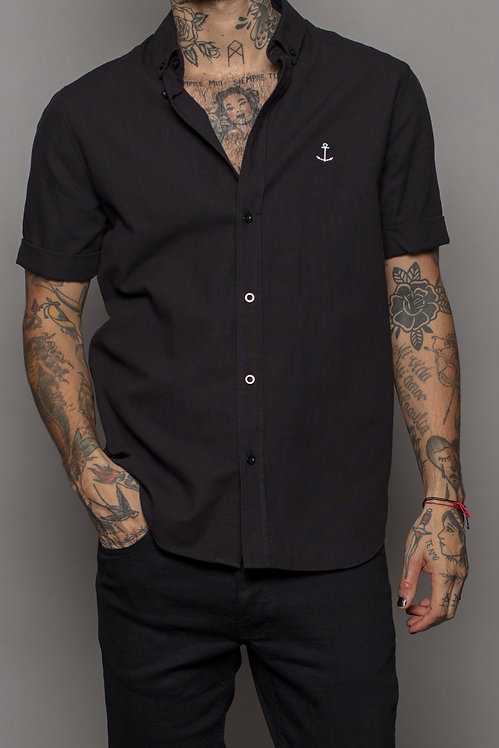 Herrman short sleeved shirt black