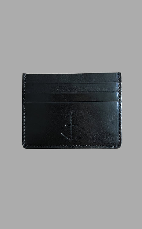 Johnny the card holder Black