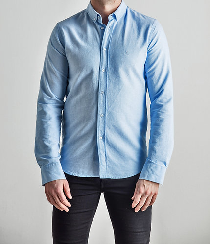 Herrman Oxford Shirt Light Blue