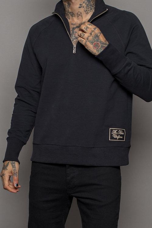 Black label half zip