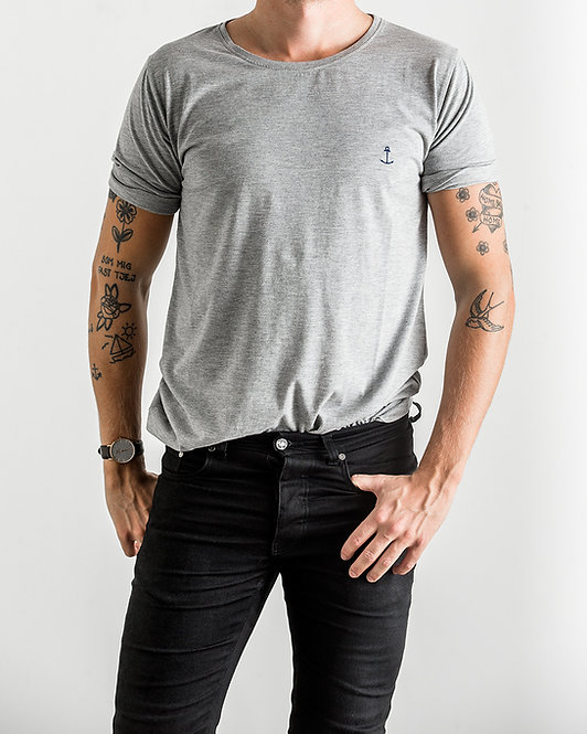 Embo Tee Grey Melange
