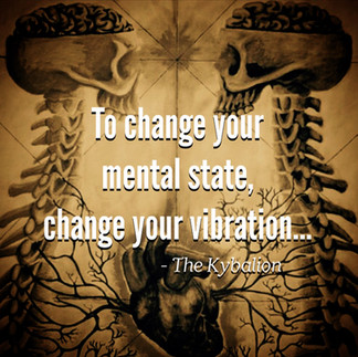 To change your mood or mental state--change your vibration. -The Kybalion  One may change his mental vibrations by an effort of Will, in the direction of deliberately fixing the Attention upon a more desirable state. Will directs the Attention, and Attention changes the Vibration. Cultivate the Art of Attention, by means of the Will, and you have solved the secret of the Mastery of Moods and Mental States.  The mastery of Polarization is the mastery of the fundamental principles of Mental Transmutation or Mental Alchemy, for unless one acquires the art of changing their own polarity, they will be unable to affect their environment. An understanding of this principle will enable one to change their own Polarity, as well as that of others, if they will but devote the time, care, study and practice necessary to master the art. The principle is true, but the results obtained depend upon the persistent patience and practice of the student.  Edited from Art by Unknown Artist  #kybalion #hermetic #esoteric #occult #wisdom #symbolism #philosophy #ancientegypt #egyptian #kemet #thoth #tehuti #hermes #hermestrismegistus