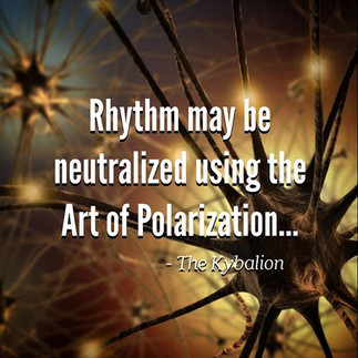 Rhythm may be neutralized by an application of the Art of Polarization.  -The Kybalion  The Hermetists hold that the Principle of Rhythm manifests on the Mental Plane as well as on the Physical Plane, and that the bewildering succession of moods, feelings, emotions, and other mental states, are due to the backward and forward swing of the mental pendulum, which carries us from one extreme of feeling to the other. The Hermetists also teach that the Law of Neutralization enables one, to a great extent, to overcome the operation of Rhythm in consciousness.   There is a Higher Plane of Consciousness, as well as the ordinary Lower Plane, and the Master by rising mentally to the Higher Plane causes the swing of the mental pendulum to manifest on the Lower Plane, and they, dwelling on their Higher Plane, escapes the consciousness of the swing backward. This is effected by polarizing on the Higher Self, and thus raising the mental vibrations of the Ego above those of the ordinary plane of consciousness. It is akin to rising above a thing and allowing it to pass beneath you.  Edited from Art by Guido Vrola  #kybalion #hermetic #esoteric #occult #wisdom #symbolism #philosophy #ancientegypt #egyptian #kemet #thoth #tehuti #hermes #hermestrismegistus