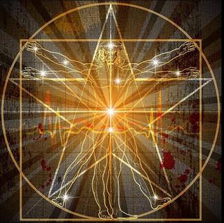 Human form Divine - Pentagram