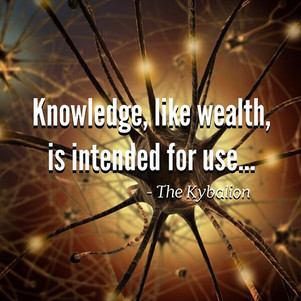 The possession of Knowledge, unless accompanied by a manifestation and expression in Action, is like the hoarding of precious metals-a vain and foolish thing.  Knowledge, like wealth, is intended for Use. The Law of Use is Universal, and he who violates it suffers by reason of his conflict with natural forces.  -The Kybalion  The Hermetic Teachings, while always having been kept securely locked up in the minds of the fortunate possessors, but they were never intended to be merely stored away and secreted. The Law of Use is dwelt upon in the Teachings, which states it forcibly. Knowledge without Use and Expression is a vain thing, bringing no good to its possessor, or to the race. Beware of Mental Miserliness, and express into Action that which you have learned. Study the Axioms and Aphorisms, but practice them also.  Edited from Art by Guido Vrola  #kybalion #hermetic #esoteric #occult #wisdom #symbolism #philosophy #ancientegypt #egyptian #kemet #thoth #tehuti #hermes #hermestrismegistus
