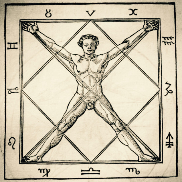 Human Form Divine - Proportion in the Square