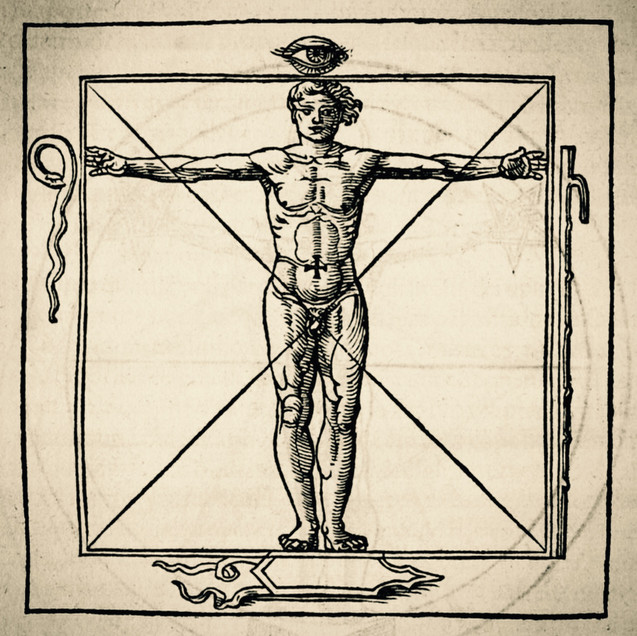 Human Form Divine - Square
