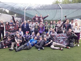 Новгородские пейнтболисты взялисеребро на втором этапе Кубка России.