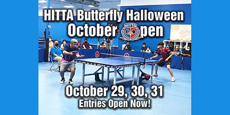 2021 HITTA Butterfly Halloween Tournament