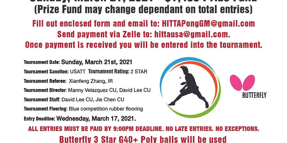 2021 HITTA Spring Open