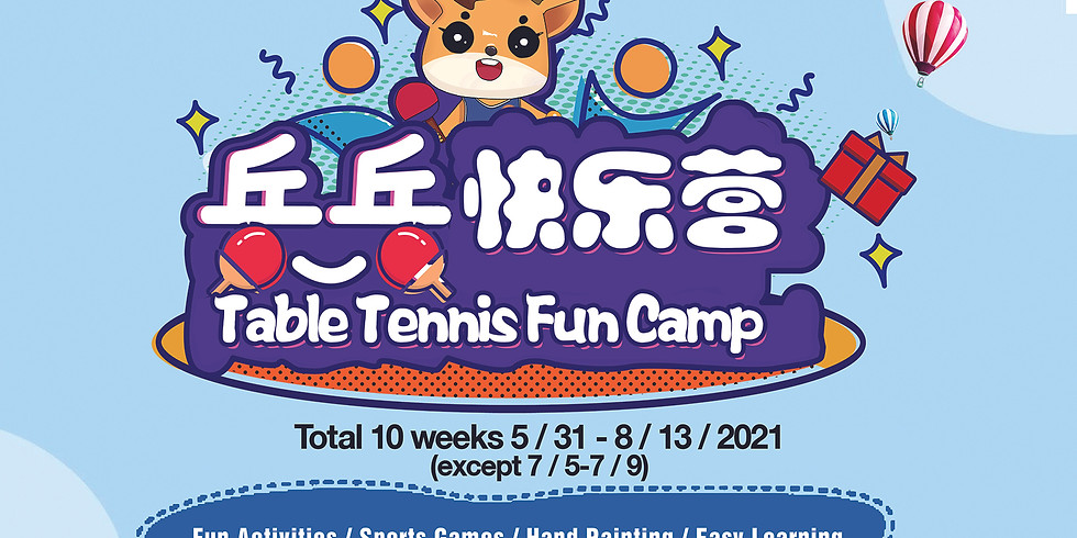 HITTA Table Tennis Fun Camp