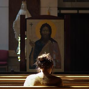 Santos e santas em Cristo, o Santo de Deus