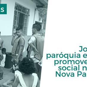 Jovens da paróquia e NAASP promovem ação social no bairro Nova Pampulha