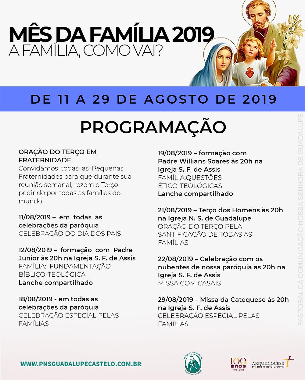 Setor de Comunicação e Marketing Nossa Senhora de Guadalupe | PASCOM Guadalupe
