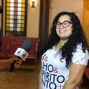 JMJ Panamá 2019 | Grupo concede entrevista para a TV Horizonte