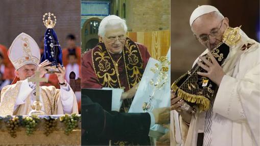 Você sabia que três Papas já visitaram o Santuário de Aparecida?
