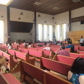 Moradores discutem ações para replantio e manutenção do Parque Ursulina de Andrade Mello