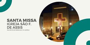 SANTA MISSA IGREJA NOSSA SENHORA DE GUAD