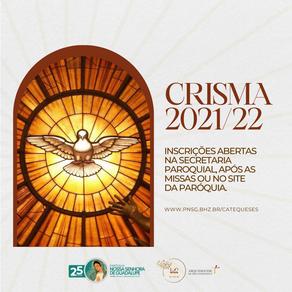 Paróquia abre inscrição para a Catequese de Crisma