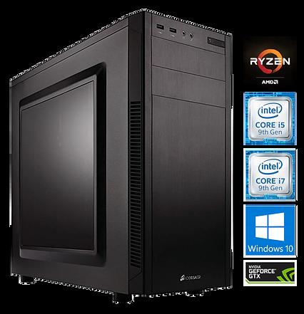 Custome Built AMD Ryzen/Intel Core i5/i7 PCs