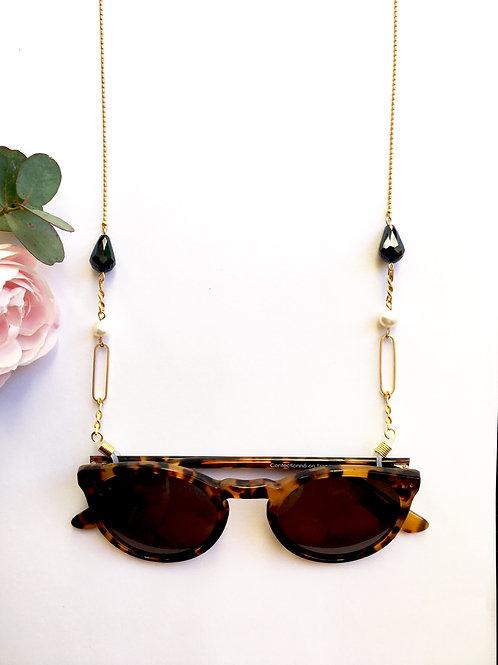 """Chaine de lunettes """"Marialuisa"""" pièce unique"""