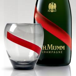 MUMM DRINK TUMBLER