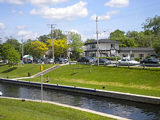 Canal in Bobcaygeon