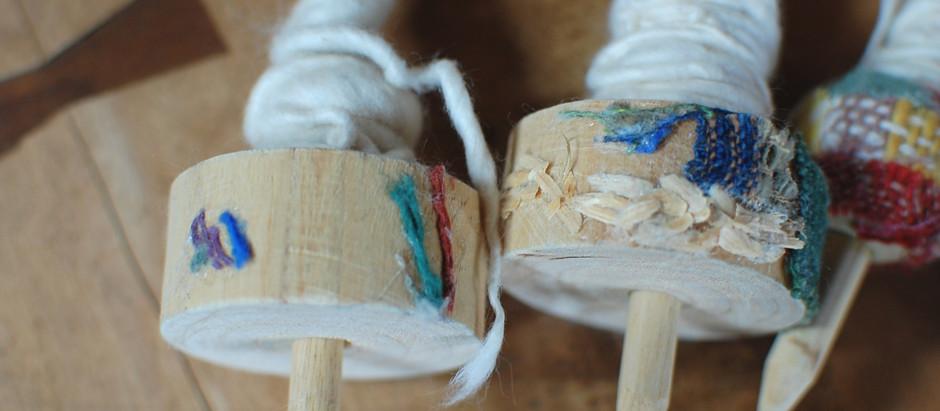 8月 糸紡ぎworkshopのおしらせ