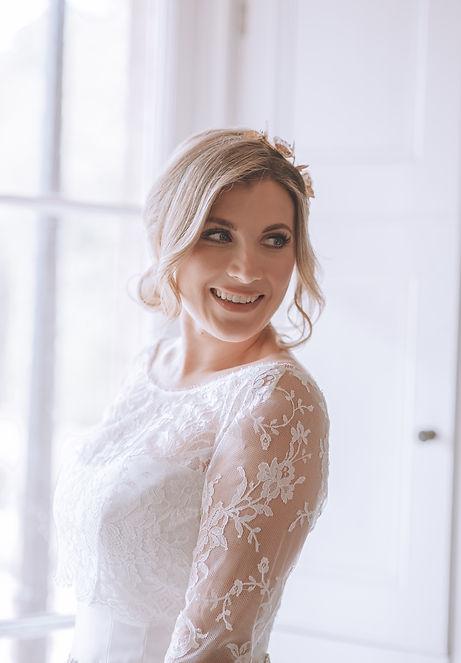 Fillongley Hall Wedding Venue. Coventry Wedding Photographer. Bridal Portrait Inspiration
