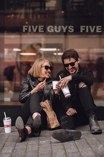 Couples City Photoshoot. Birmingham Phot