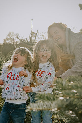 Family Photography. Warwickshire Christmas Family Photography. Warwickshire Christmas Tree Farm