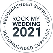 Rock My Wedding Recommended as one of the Best Photographers in Warwickshire, West Midland