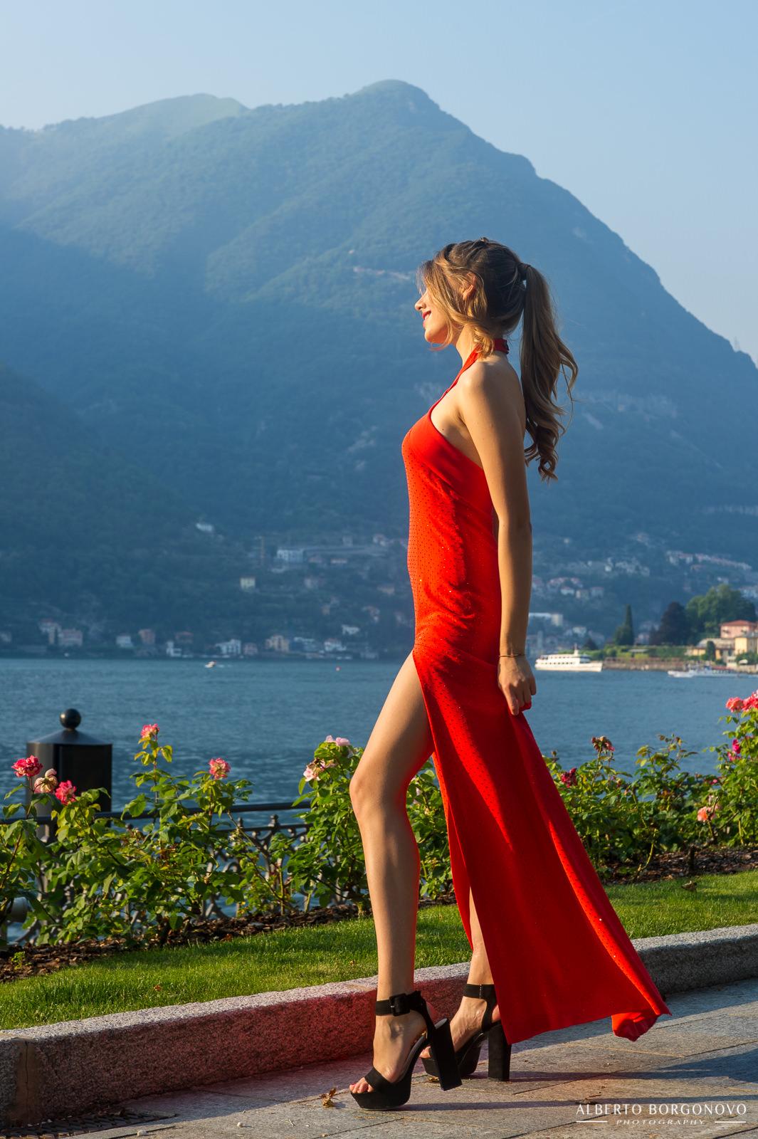 Shooting Roxana Pansino Dress