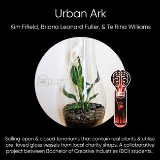 Kim Fifield, Briana Leonard Fuller, & Te Rina Williams = Urban Ark.