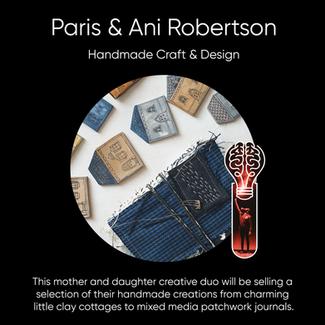 Paris & Ani Robertson - Handmade Craft & Design.