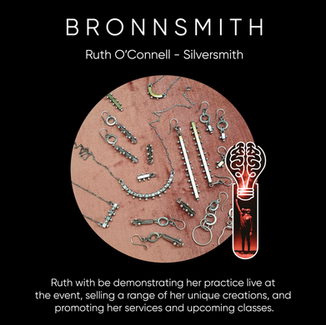 Ruth O'Connell ( B R O N N S M I T H ), Silversmith.