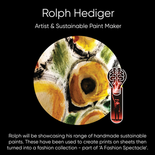 Rolph Hediger, Artist & Sustainable Paint Maker.