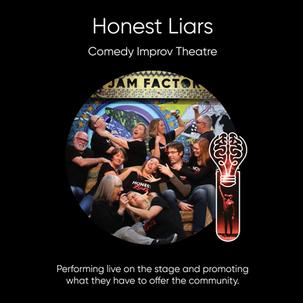 Honest Liars, comedy improv theatre.